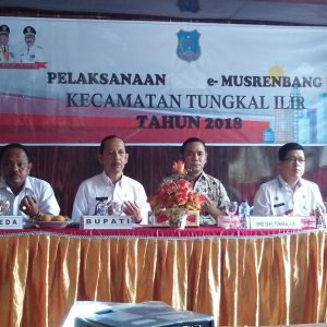 e-Musrenbang  Tingkat Kecamatan Tungkal Ilir Tahun 2018 Berjalan Sukses dan Lancar