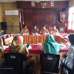 Rapat Pemantapan Lomba Sekolah Sehat (LSS) Serta Tim Pembina Usaha Kesehatan Sekolah (UKS) Tingkat Kecamatan Tungkal Ilir Tahun 2018