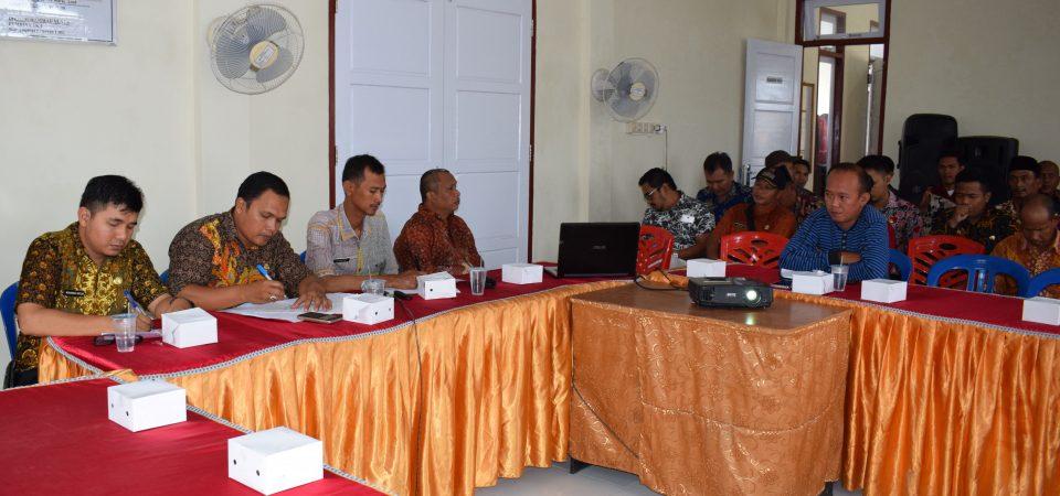 Sekcam Tungkal Ilir Menghadiri Sosialisasi Pelaksanaan Usulan Kegiatan Tahun 2020 melalui Login Desa/Kelurahan dan Kecamatan pada Aplikasi e-Planning (e-Musrenbang).