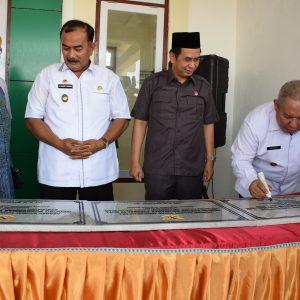 Peresmian Gedung Kantor Baru Kecamatan Tungkal Ilir, Kelurahan Tungkal IV Kota, dan Puskesmas Kuala Tungkal I