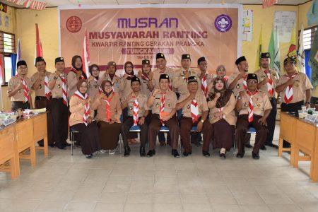 Camat Tungkal Ilir Secara Resmi Membuka Kegiatan Musyawarah Ranting Kwartir Ranting Gerakan Pramuka Tungkal Ilir Tahun 2019