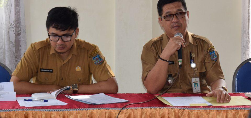 Rapat Terbatas Pembinaan Awal Pelaksanaan Kegiatan Kecamatan Tungkal Ilir Tahun 2019