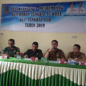 Kelurahan Tungkal IV Kota, Musrenbang Tahun 2019